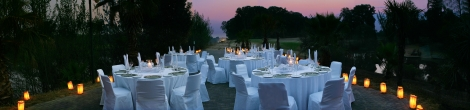 Wedding Tables at Riviera on Vaal Hotel and Country Club