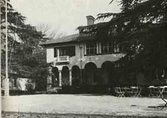 The Lewis House, which was converted into a clubhouse for the Vereeniging Country Club