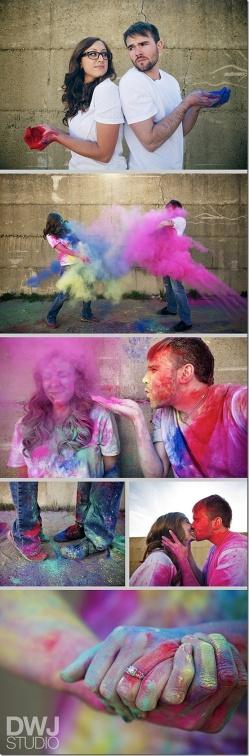 Paint your partner- Pinterest
