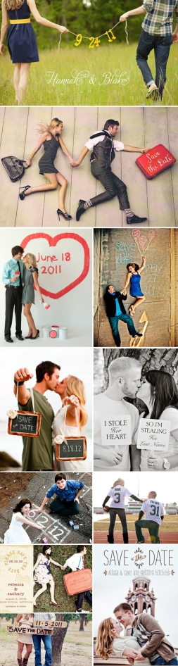 Save the date ideas from Praise Wedding Inspirations