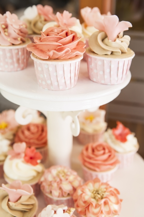 The perfect cupcakes for the perfect wedding