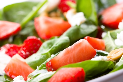 A salad always brings colour to your plate