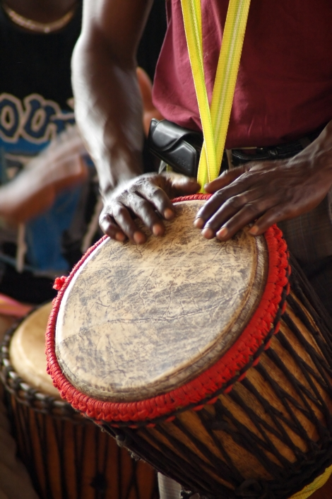 Drumming as a team building activity
