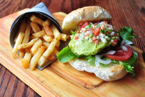Inyama's new Mexican Burger