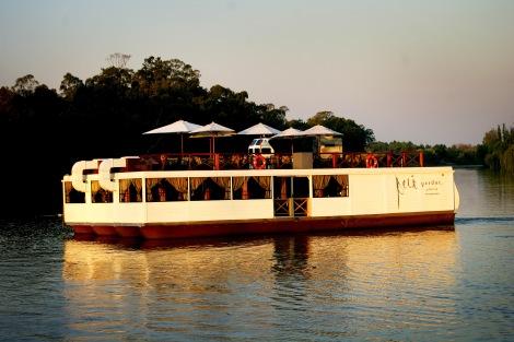 The Riviera on Vaal's Floating Restaurant, the Petit Verdot.