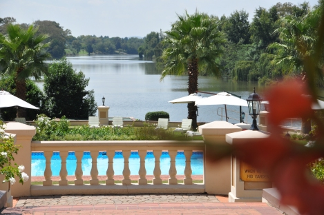 Another Vaal River view from Matthews Terrace Cafe
