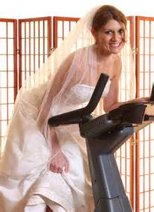 Staying in shape for your big day