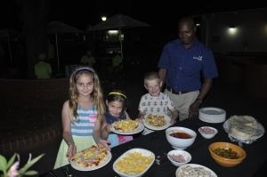 Build-your-own pizza for kids