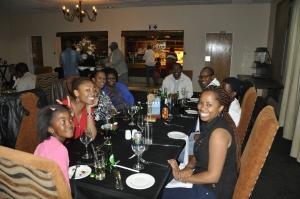 Guests enjoying their R99 Friday Buffet @ Maccauvlei