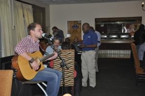 Live entertainment with Benjamin Blohm